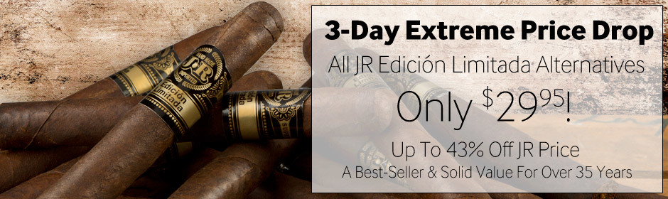 Cuban-Style JR Alternatives At Our Lowest Price Ever!