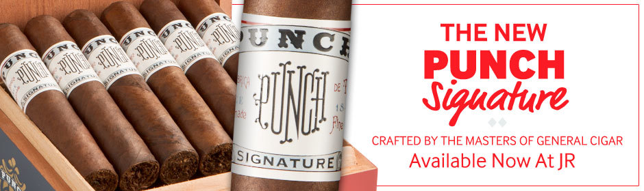 the new punch signature cigars are available at JR Cigar