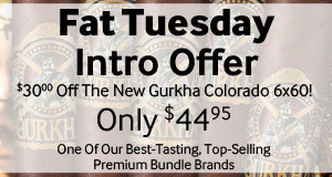 $30.00 off gurkha colorado cigars