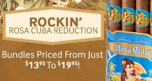 Today Only! Reduced Pricing on Rosa Cuba!