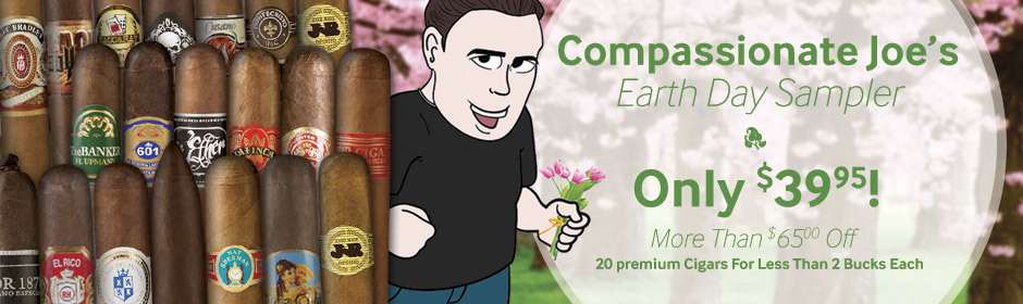 20-Cigar Sampler just $39.95 - Save more than $65.00!