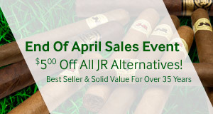 April Sales Event! $5.00 off all bundles of JR Alternatives!