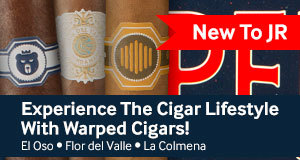warped cigars are now available at jr cigar