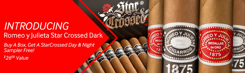 romeo y julieta star crossed day & night sampler free with romeo y julieta cigars