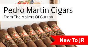 pedro marting cigars by Gurkha are available at JR Cigar