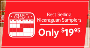 Best Selling Nicaraguan Samplers for Only $19.95! Choose From 3 Sizes.