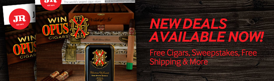 new july cigar deals are available on the jr cigar website now