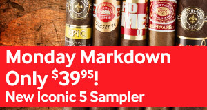 Today only, get the new Iconic Brands 5-Packs for only $39.95!