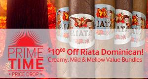 Prime Time Price Drop! $10.00 Off Riata Dominican bundles!