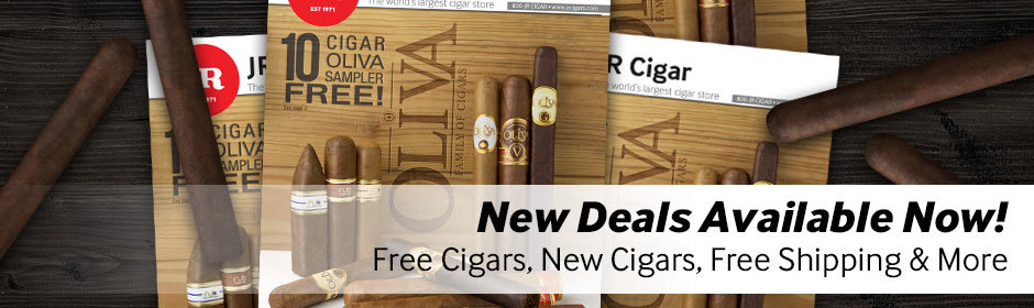 New deals available! Free cigars, free shipping, new cigars, more!