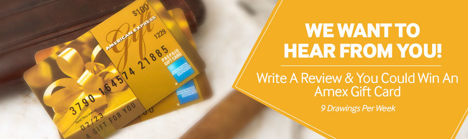 write a cigar review and win an amex gift card