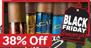 Black Friday Bonanza 2! 38% Off All Boxes & 5-Packs Of ACID Cigars by Drew Estate!