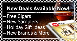 New december cigar deals are available on the jr cigar website