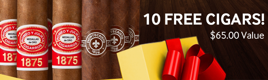 Iconic Reserve Edition IX 10-Cigar Sampler free with Montecristo and Romeo cigars