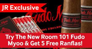 free cigars with the new room 101 fudo myoo cigars