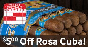 $5.00 Off All Bundles Of Rosa Cuba!