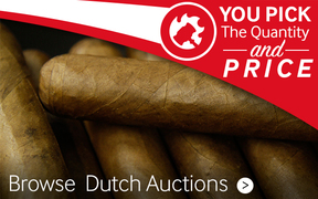 Browse JR Daily Dutch Auctions for premium cigars
