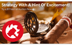 Try new JR Free Fall Auctions & win premium cigars