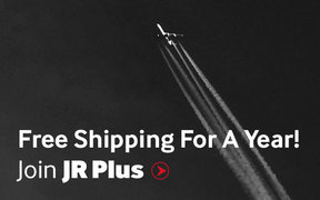 Free shipping for an entire year with JR Plus