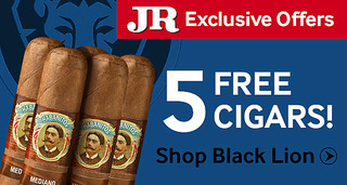 Free Habanitos Cigars with Black Lion by La Aurora cigars