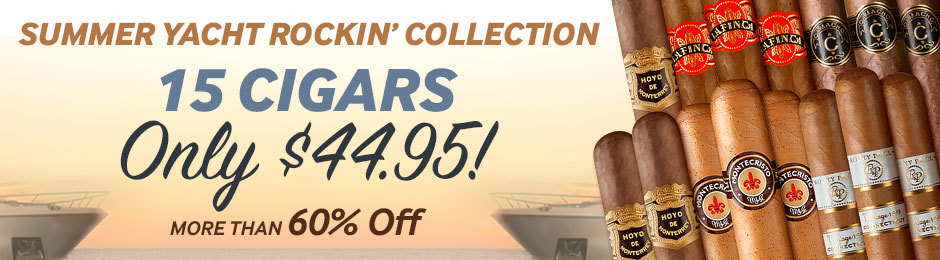 Today Only Get An Exclusive Summer Yacht Rockin' Collection For Only $44.95 & Save More Than 60%!