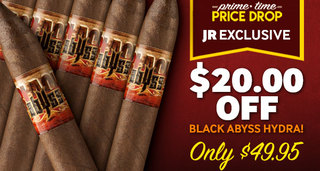 Prime Time Price Drop! For 12 Hours Only Get $20.00 Off The Black Abyss Hydra!