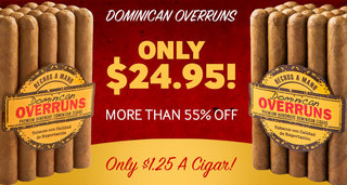 Today Only, Get A Bundle Of Dominican Overruns & Save More Than 55% Off!