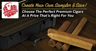 build your own premium cigar sampler at JR Cigar