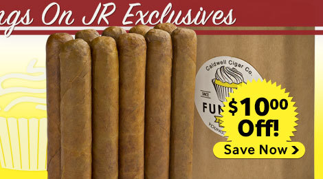 $10.00 off robert caldwell funettil cigars