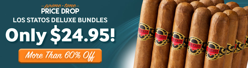 Prime Time Price Drop! For 12 Hours Only, Get A Bundle Of Los Statos Deluxe For Only $24.95 & Save More Than 60%!