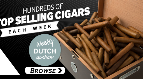 Browse JR Weekly Dutch Auctions for premium cigars