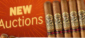 Browse new auctions and bid on premium cigars at low prices