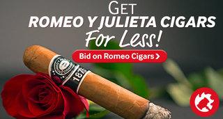 Bid on Romeo y Julieta cigar auctions