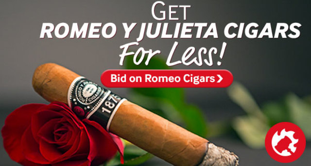 Bid on Romeo y Julieta cigar auctions
