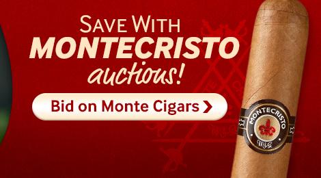Bid on Montecristo Cigar Auctions