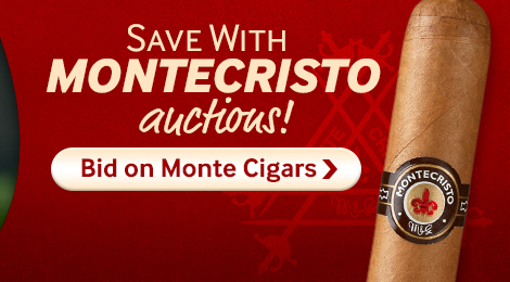 Bid on Montecristo Cigar Auctions