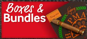 Bid on premium cigar boxes and bundles