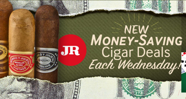 New money-saving cigar deals with the JR Cigar Weekly Special