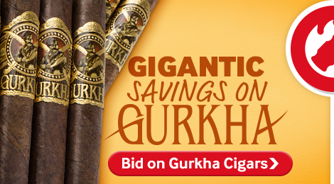 Bid on Gurkha cigar auctions