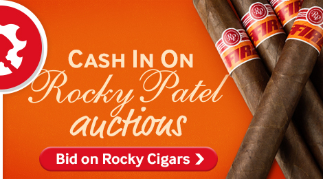 Bid on Rocky Patel auctions