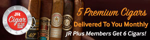 Join the all new JR cigar of the month club
