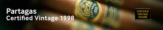 Partagas Certified Vintage 1998