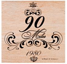 90 Miles by Flor de Gonzalez 1980 Edition