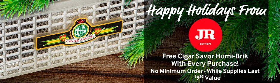 While supplies last, we'll include a Cigar Savor Humi-Brik free with every purchase!