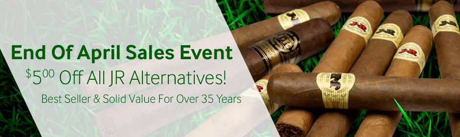 April Sales Event! $5.00 off all bundles of JR Alternatives!