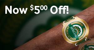 $5.00 off all bundles of Special Jamaicans cigars!