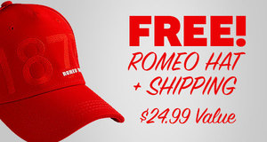 Free Romeo Hat & Free Shipping With Select Romeo y Julieta Cigars!