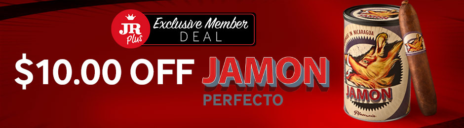 JR Plus Exclusive Member Deal! Get $10.00 Off The New JR Exclusive Jamon Perfecto Cigars From Plasencia!
