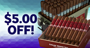 $5.00 Off Select Boxes & Packs Of Foundry, Black Knight, & Easy Eddie's Stogies!