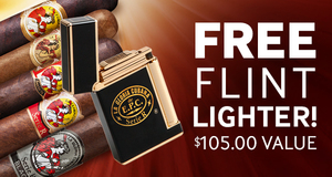 Free La Gloria Cubana Serie R Flint Lighter With Select Boxes Of La Gloria Cigars!